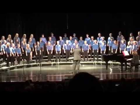 Edwardsburg Middle School 8th Grade 2018 Fall Concert- America the Beautiful