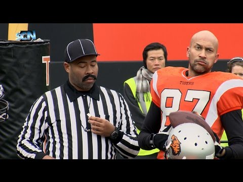 Hingle McCringleberry Gets Some Help With His Excessive Celebrations [Colbert with Key and Peele]