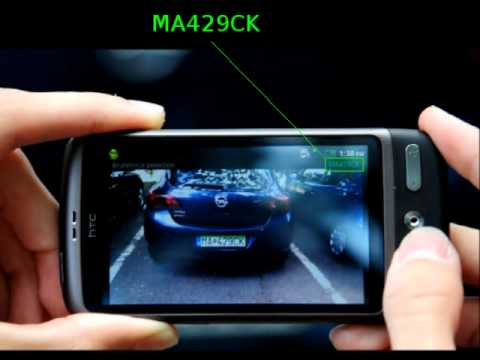 License plate detection (Android)