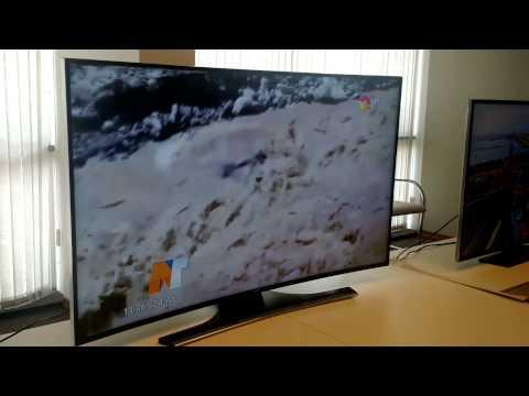 Demo de Samsung Smart TV HU7200 en la Argentina