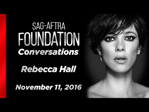 Conversations with Rebecca Hall