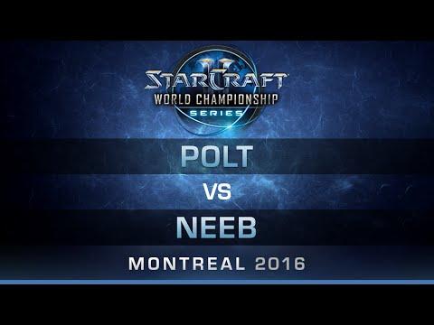 SC2 - Polt vs Neeb [TvP] - RO4 - Bo5 - DreamHack Zowie Open Montreal 2016