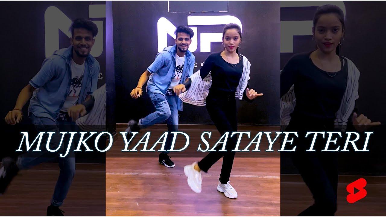 Mujhko Yaad Sataye Teri | Dance Video | #Shorts X BehindTheScene | Nritya Performance