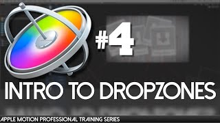 Intro zu Dropzones - Apple Motion Professional Training 04 von AV-Ultra