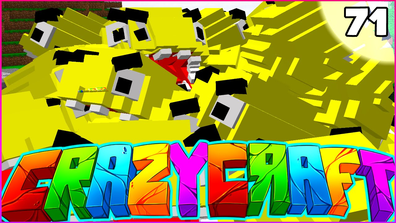 Minecraft Crazy Craft Petezahhutt