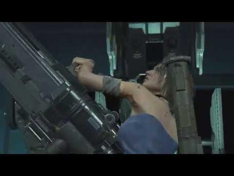 Nemesis Makes Jill Sandwich Jill Death Scene Resident Evil 3 Remake 2020 Youtube