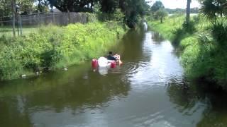 Plastic Barrel Boat