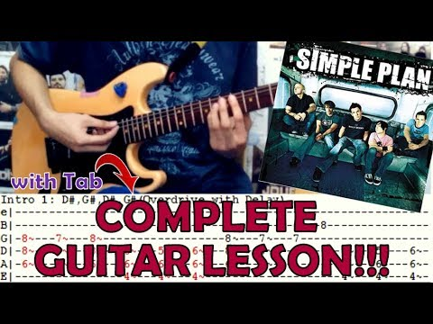 Perfect Simple Plancomplete Guitar Lessoncoverwith Chords And