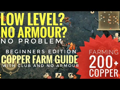Copper Farm Guide🌟Easy and Safe 🌟Grim Soul Dark Fantasy Survival