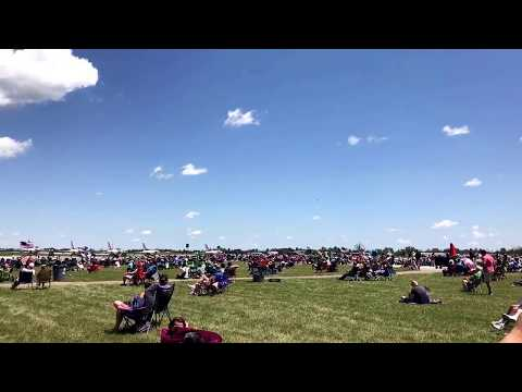 Lockheed Martin F-35A demo at the Vectren Dayton Air Show 6/25/17