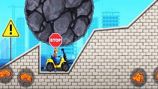 Moto X3M Construction Yard Levels 1 - 15 | Bike Racing Games, Bike Games Race Free 2019 # 107