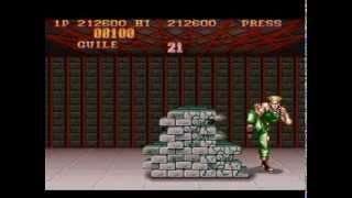 Street Fighter II - The World Warrior (SNES) - Guile (Hardest)
