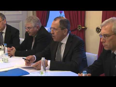 С.Лавров и Ю.Амано   Sergey Lavrov & Yukiya Amano