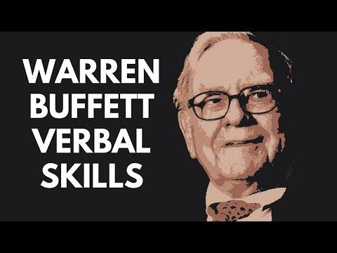 WARREN BUFFETT VERBAL SKILLS (PERSUASION & WIT)