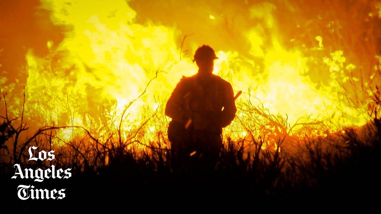 Alisal Fire near Santa Barbara now at more than 8000 acres ...