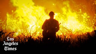 Alisal fire threatens homes, burning 8,000 acres in Santa Barbara