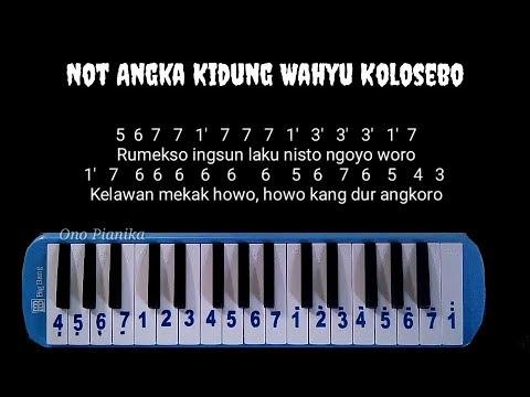 Not Pianika Kidung Wahyu Kolosebo