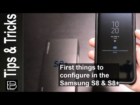 Galaxy S8 & S8+: First 10+ Things I Tell Family and Friends To Do After Unboxing!