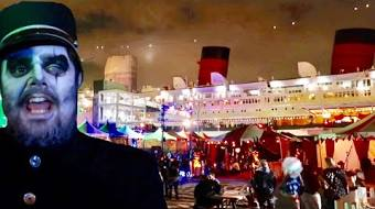 dark harbor at the queen mary 2018 horror haunt aboard a ship inside the mazes