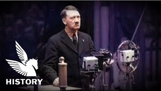 """【日本語字幕】ヒトラー演説 """"マルクス主義の破滅"""" - Hitler Speech at the Siemens factory"""