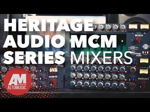 Heritage Audio MCM Series Mixers - Alto Music