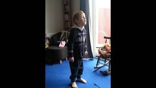 Mini rickette jorgie doing ricky k show. Bgt 2014