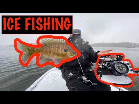 ICE FISHING On A Boat (Ice Fishing 2020)