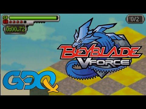BeyBlade VForce: Ultimate Blader Jam By 360Chrism In 21:23 - GDQx2018