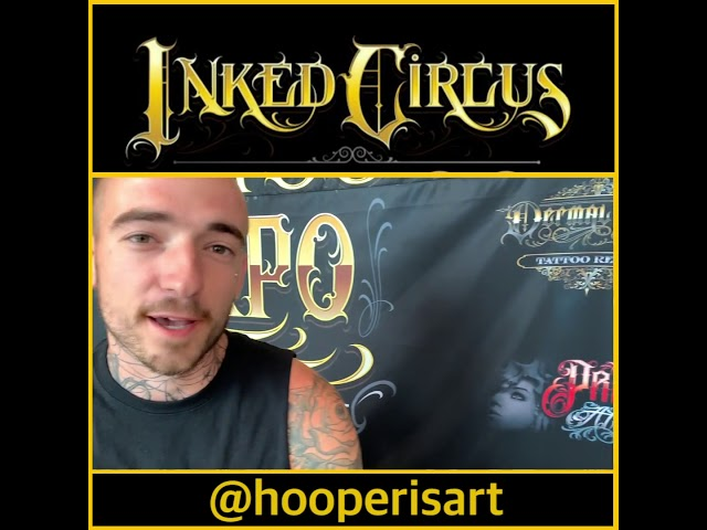 Cole Hooper joined us from Victoria BC for Inked Circus