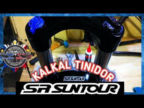 SR SUNTOUR XCR Fork Service - Disassemble/Clean/de grease/Re grease/Re-assemble/Wrench Spanner