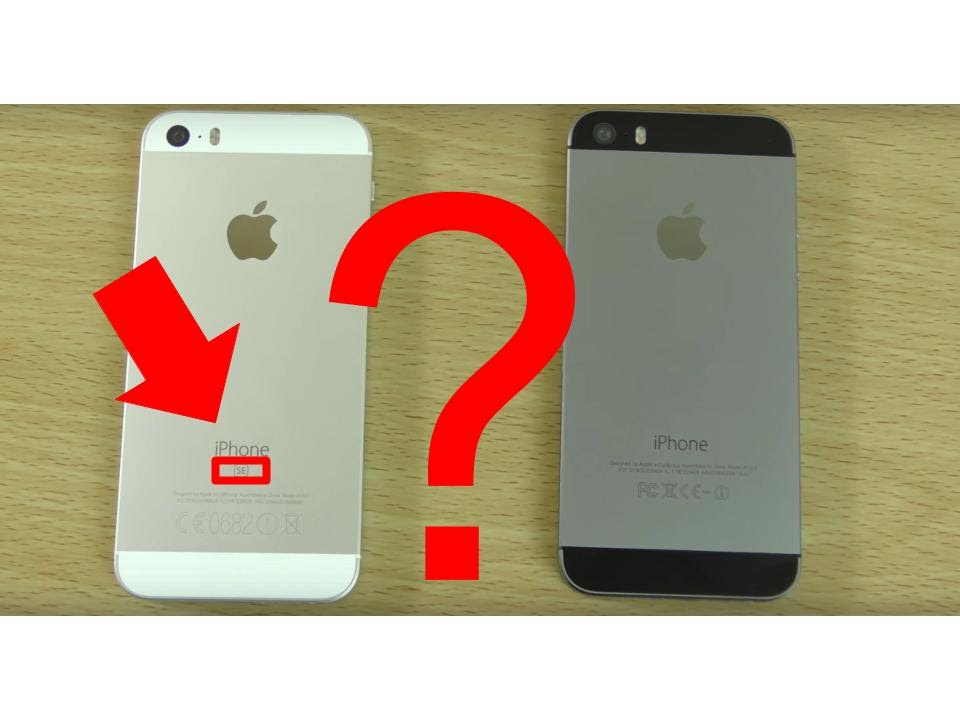 IPHONE SE REAL VS FAKE