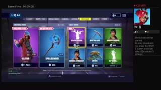 Playing Fortnite Live join for free gift cards