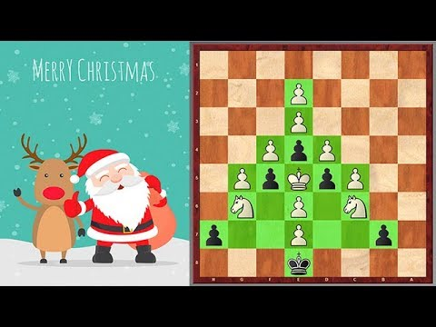 A Very Hard Christmas Chess Puzzle Which Requires Creativity