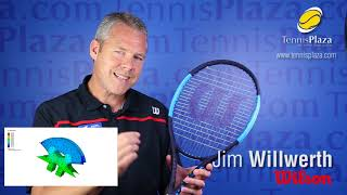 Wilson Ultra 100 Countervail Tennis Racquet Overview | Tennis Plaza