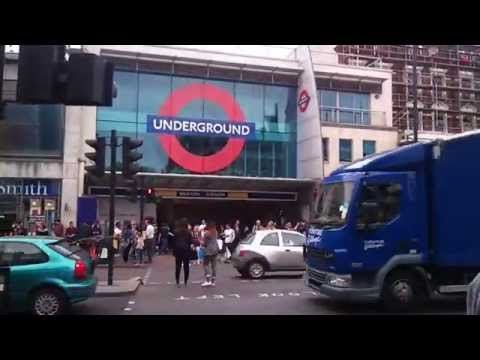 London Brixton Tube Station