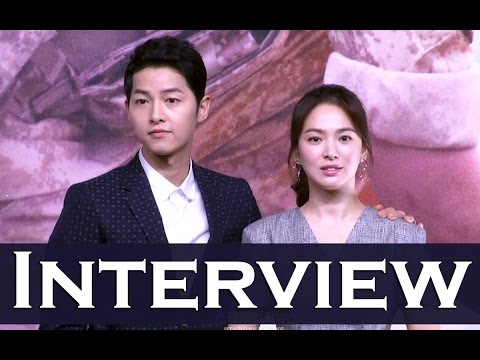 ◀KOREAN TV▶ Song Song Couple's Interview (JOONG-KI & HYE-KYO) Descendants of the Sun