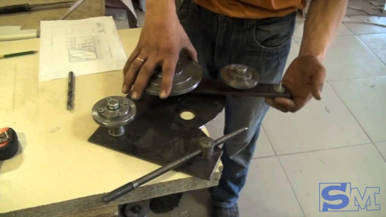 Как сделать станок для гибки профиля своими руками