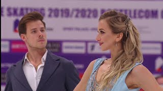 Виктория Синицина и Никита Кацалапов лидируют по итогам ритмического танца!
