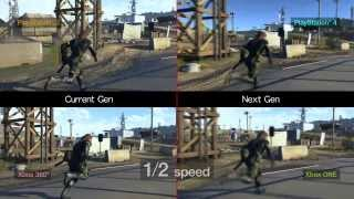 METAL GEAR SOLID 5 GROUND ZEROES: PS3 vs PS4 vs Xbox 360 vs Xbox One [1080p gameplay]