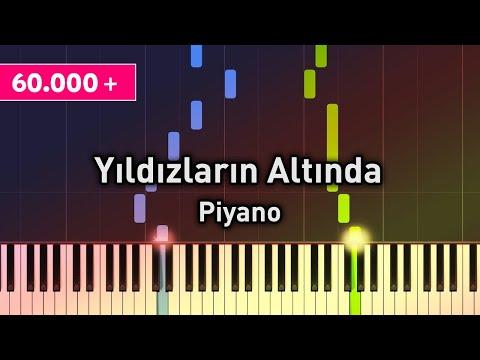 Yıldızların Altında - Piyano - Nasıl Çalınır