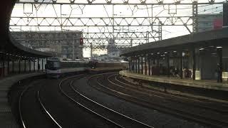 【つい最近再リニューアルされた】京阪8000系8004F特急淀屋橋行き 大和田通過