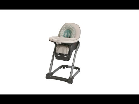 graco high chair 4 in 1 big joe lumin smartmax fabric how to assemble the blossom youtube