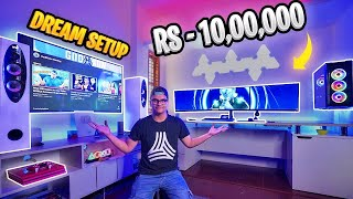 They Surprised Me With My Dream Gaming Setup Worth RS- 10,00,000 😱