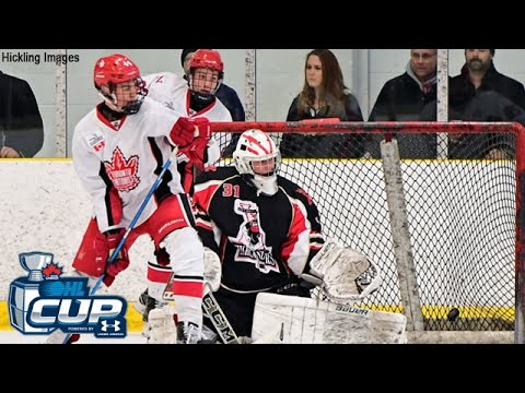 2017 OHL Cup (Wild Card)  ::: '01  Toronto Young Nationals vs Bruce - Gray Highlanders 4-3