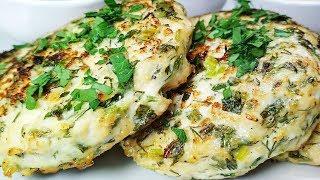Просто отпадные Одесские Куриные котлеты. Зелени и мяса пополам! Котлеты из курицы в духовке.