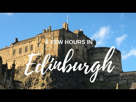 A Day and Night in Edinburgh