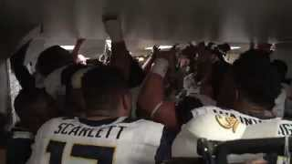 Cal Football: Post game locker celebration (Washington State)