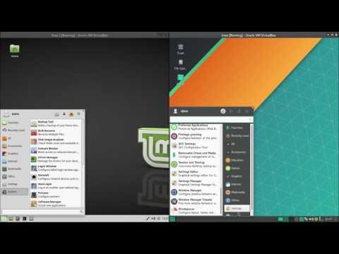 Mint Xfce VS. Manjaro Xfce