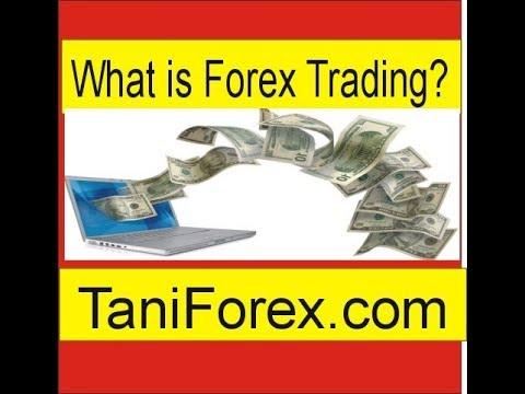 Define forex trading market