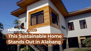 This Sustainable Home Stands Out In Alabang